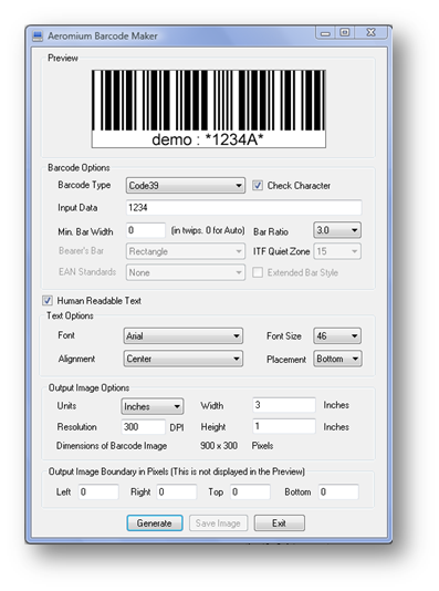 Windows 7 Barcode Maker 2.0 full